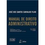 Ficha técnica e caractérísticas do produto Livros - Manual de Direito Administrativo