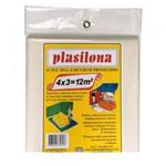 Ficha técnica e caractérísticas do produto Lona Plástica 4 X 3 Mtransparente Plasitap