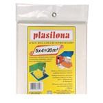 Ficha técnica e caractérísticas do produto Lona Plástica 5 X 4 M Transparente Plasitap Plasitap