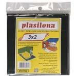 Ficha técnica e caractérísticas do produto Lona Plástica 3x2m Preto Plasitap