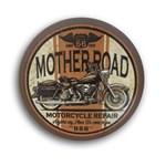 Ficha técnica e caractérísticas do produto Luminoso de Parede Marrom Mother Road