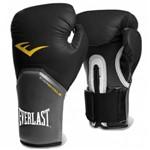Ficha técnica e caractérísticas do produto Luva Boxe Everlast Pro Style Elite Training 12 Oz Preta com Cinza