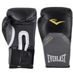 Ficha técnica e caractérísticas do produto Luva Boxe Muay Thai 12 Oz Everlast Pro Style Preta