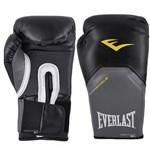 Ficha técnica e caractérísticas do produto Luva Boxe Muay Thai 14 Oz Everlast Pro Style Preta