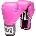 Ficha técnica e caractérísticas do produto Luva de Boxe Everlast Pro Style 14Oz Pink Velcro Evercool Everfresh Pu