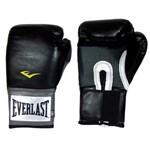 Ficha técnica e caractérísticas do produto Luva de Boxe Unissex Everlast Pro Style - Preta - 14 Oz