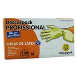 Ficha técnica e caractérísticas do produto Luva de Latex M com Pó Descarpack Cartucho com 100 Unid