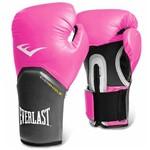 Ficha técnica e caractérísticas do produto Luva Everlast Boxe Ever Shield Pro Style Elite 12 Oz Rosa