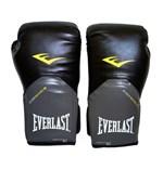 Ficha técnica e caractérísticas do produto Luva Muay Thai Boxe 12 Oz Everlast Pro Style Preta