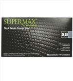 Luva Supermax Nitr. Black Gg
