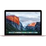 """MacBook MMGL2BZ/A Mac OS X El Capitan com Intel Core M 8GB 256GB Tela 12"""" Ouro Rosa - Apple"""