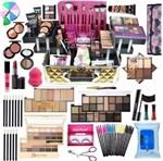 Maleta Grande com Maquiagem Completa Vult Ruby Rose V1 .3 - Vult Comesticos