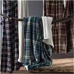 Ficha técnica e caractérísticas do produto Manta Escocia Home Design Queen Xadrez Azul
