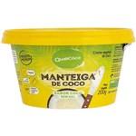 Ficha técnica e caractérísticas do produto Manteiga de Coco Sabor Coco Sem Sal 200g - Qualicoco