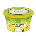 Ficha técnica e caractérísticas do produto Manteiga de Coco Sabor Coco Sem Sal Qualicôco 200g - Qualicoco