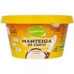 Ficha técnica e caractérísticas do produto Manteiga de Coco Sabor Manteiga com Sal 200g - Qualicoco