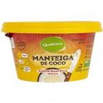 Ficha técnica e caractérísticas do produto Manteiga de Coco Sabor Manteiga Sem Sal 200g - Qualicoco