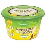 Ficha técnica e caractérísticas do produto Manteiga de Coco Sem Sal Sabor Coco 200g - QualiCôco - Qualicoco