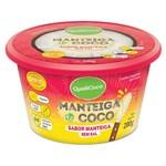 Ficha técnica e caractérísticas do produto Manteiga de Coco Sem Sal Sabor Manteiga 200g - QualiCôco - Qualicoco