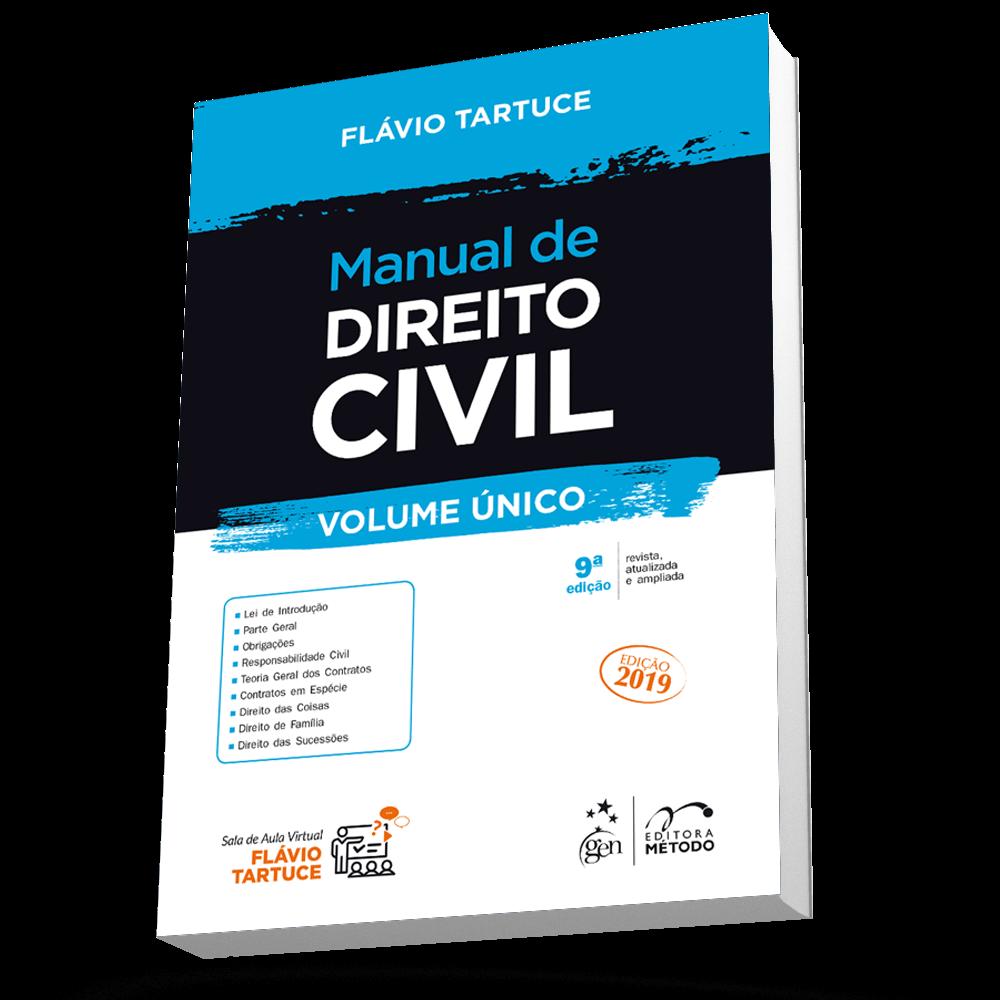 Ficha técnica e caractérísticas do produto Manual de Direito Civil - Volume Único 9ed