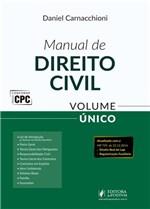 Ficha técnica e caractérísticas do produto Manual de Direito Civil - Volume Unico - Juspodivm - 1