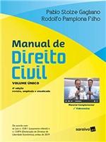 Ficha técnica e caractérísticas do produto Manual de Direito Civil - Volume Unico