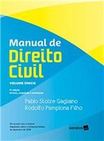 Ficha técnica e caractérísticas do produto Manual de Direito Civil Volume Único