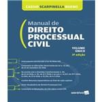 Manual de Direito Processual Civil - Volume Unico - 03 Ed