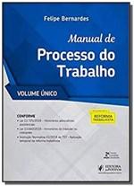 Ficha técnica e caractérísticas do produto Manual de Processo do Trabalho  02 - Juspodivm