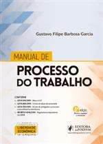 Ficha técnica e caractérísticas do produto Manual de Processo do Trabalho (2020)
