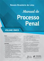 Manual de Processo Penal - Vol. Único (2019)
