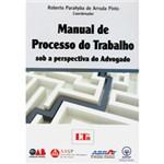 Ficha técnica e caractérísticas do produto Livro - Manual de Processo Trabalho