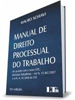 Ficha técnica e caractérísticas do produto Manual de Processual do Trabalho - Ltr
