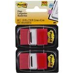 Ficha técnica e caractérísticas do produto Marcadores de Página Adesivos Post-It Flags Vermelho 100 Folhas - 3M
