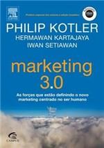 Ficha técnica e caractérísticas do produto Marketing 3 0 - Campus - 1