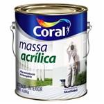 Ficha técnica e caractérísticas do produto Massa Acrílica 6kg Coral