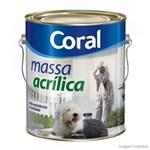 Ficha técnica e caractérísticas do produto Massa Acrilica Coral 3,6 Gl