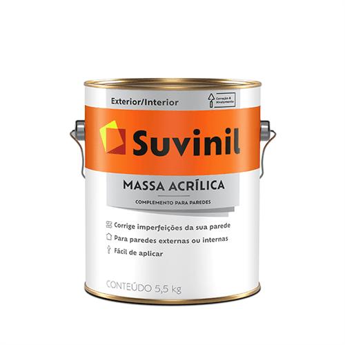 Ficha técnica e caractérísticas do produto Massa Acrilica Suvinil 3,6 Litros
