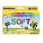 Ficha técnica e caractérísticas do produto Massa de Modelar 12 Cores Soft Acrilex