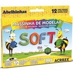 Ficha técnica e caractérísticas do produto Massa Modelar Soft 180G 12 Cores Acrilex