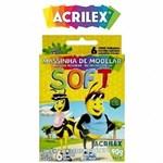 Ficha técnica e caractérísticas do produto Massa Modelar Soft 6 Cores 90G Acrilex