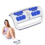 Ficha técnica e caractérísticas do produto Massageador de Pés com Vibração Portátil Foot Relax Massager Cor Azul, RM-FM03 - RelaxMedic