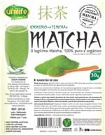 Ficha técnica e caractérísticas do produto Matcha Puro e Organico Legítimo Sóluvel 3X30G Unilife (Natural)