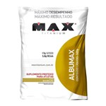 Ficha técnica e caractérísticas do produto Max Titanium Albumax 100 500g Baunilha