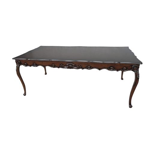 Mesa de Jantar Luis XV Pata de Leão 1.40 - Wood Prime 11804