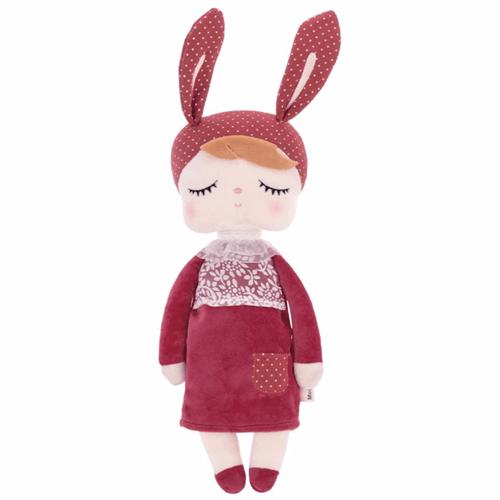 Ficha técnica e caractérísticas do produto Metoo Doll Angela Bordô Bunny