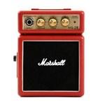 Ficha técnica e caractérísticas do produto Micro Combo para Guitarra Marshall Vermelho Ms-2R-E Portátil