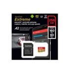 Micro Sd Sandisk Sdxc Extreme A2 U3 160mb/s 256gb