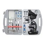 Ficha técnica e caractérísticas do produto Microscópio com Ampliação 300x 600x e 1200x - Bluetek 2xt