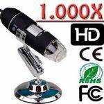 Microscopio Digital Usb 1000x Aumento Lupa Zoom Camera Hd Multi